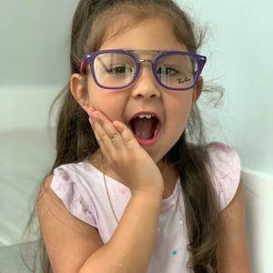 Ray Ban Junior Eyeglasses RY1585 3781 45